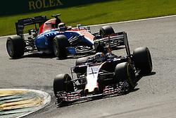 August 28, 2016 - Spa Francorchamps, Belgium - Motorsports: FIA Formula One World Championship 2016, Grand Prix of Belgium, .#55 Carlos Sainz Junior (ESP, Scuderia Toro Rosso) (Credit Image: © Hoch Zwei via ZUMA Wire)