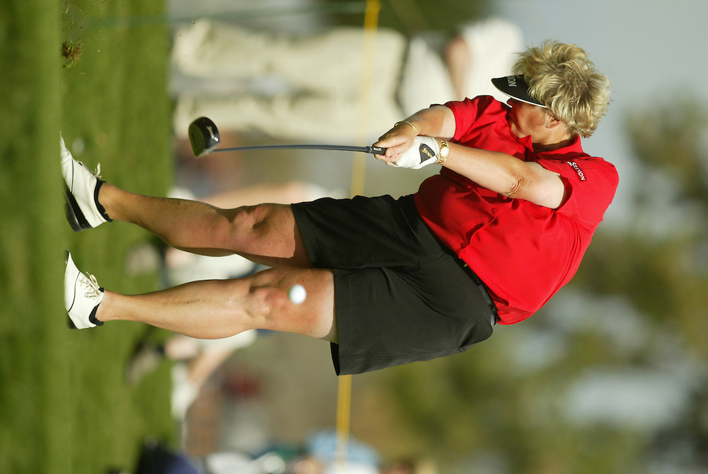 Laura Davies..LPGA Welch's Fry's Championship.First Round.Dell Urich Course at Randolph Park.Tucson, AZ.Thursday, March 11 2004..photograph by Darren Carroll