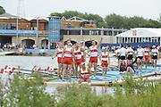 Eton Dorney, Windsor, Great Britain,..2012 London Olympic Regatta, Dorney Lake. Eton Rowing Centre, Berkshire[ Rowing]...Description;  Men's Eights Final...CAN.M8+.  Gabriel BERGEN (b) , Douglas CSIMA (2) , Rob GIBSON (3) , Conlin MCCABE (4) , Malcolm HOWARD (5) , Andrew BYRNES (6) , Jeremiah BROWN (7) , Will CROTHERS (s) , Brian PRICE (c).  Dorney Lake. 12:52:52  Wednesday  01/08/2012.  [Mandatory Credit: Peter Spurrier/Intersport Images].Dorney Lake, Eton, Great Britain...Venue, Rowing, 2012 London Olympic Regatta...