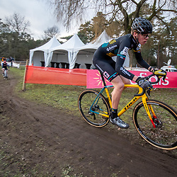 21-12-2019: Cycling : Waaslandcross Sint Niklaas: Lennert Goovaerts pictured in action in Sint Niklaas