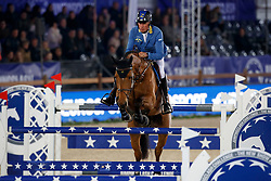 Ahlmann Christian, GER, Fixdesign Funke Van 'T Heike<br /> Accenture Jumpingclash Challenge<br /> presented by BMW<br /> Jumping Antwerpen 2017<br /> © Hippo Foto - Dirk Caremans<br /> 21/04/2017