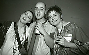 Inspiral Carpets - fans after gig, Manchester, UK, circa 1990