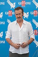 Giffoni Valle Piana (SA) 17.07.2012 - Giffoni Film Festival 2012. Photocall di  Marco Giallini. Foto Giovanni Marino