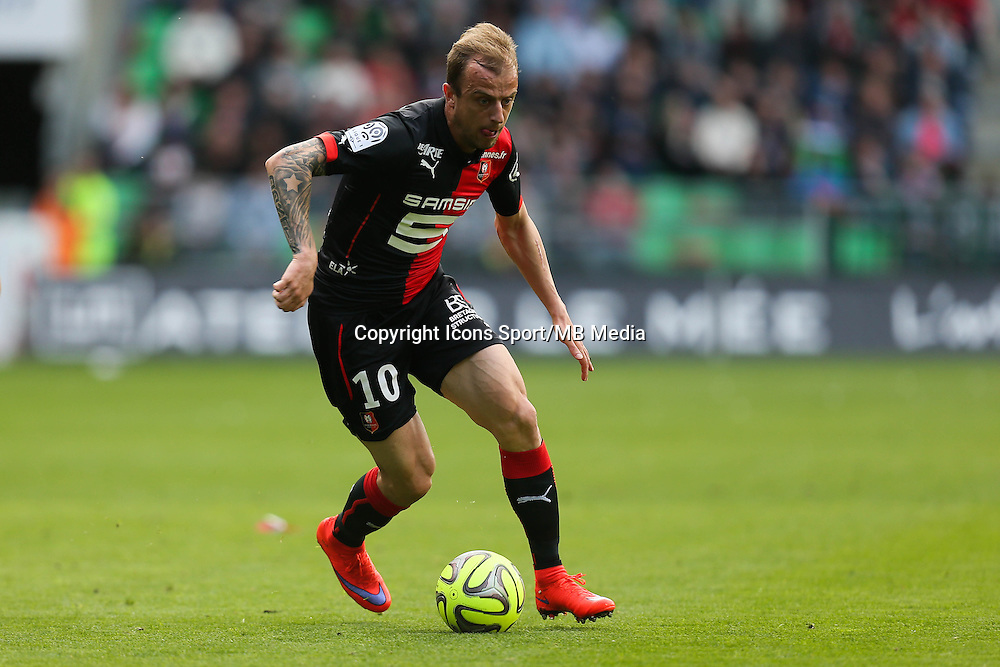 Kamil GROSICKI - 12.04.2015 - Rennes / Guingamp - 32eme journee de Ligue 1 <br /> Photo : Vincent Michel / Icon Sport