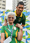 15 August- Wayde van Niekerk meets SA media