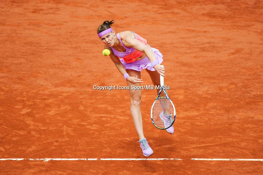 Lucie SAFAROVA  - 02.06.2015 - Jour 10 - Roland Garros 2015<br /> Photo : Nolwenn Le Gouic / Icon Sport