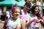 Potenza, Basilicata, Italia, 11/06/2016<br /> Alcuni momenti della Raibow Race 2016, che si &egrave; svolta a Potenza. Chiamata anche Color Run, &egrave; nata negli Stati Uniti a Gennaio 2012 come un evento per promuovere il benessere e la felicit&agrave; e fare in modo che tutti possano divertirsi e partecipare ai &ldquo;5km pi&ugrave; divertenti sul pianeta&rdquo;.<br /> <br /> Potenza, Basilicata, Italy, 11/06/2016<br /> Some moments of the Rainbow Race 2016, in Potenza. Also named 'Color Run', it was born in United States in 2012 as an event to promote wellness and happiness so that everyone can enjoy and participate in the &quot;funniest 5km on the planet&quot;.