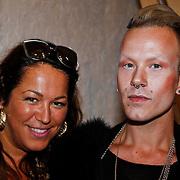 NLD/Amsterdam/20100901 - Glamour magazine bestaat 5 jaar, Tessa Koops en Bas Kosters