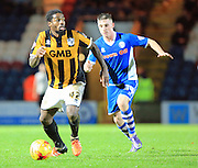 Anthony Grant during the Sky Bet League 1 match between Rochdale and Port Vale at Spotland, Rochdale, England on 28 November 2015. Photo by Daniel Youngs.