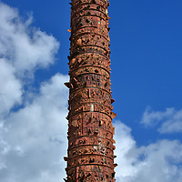 Tel&uacute;rico Totem in San Juan, Puerto Rico<br />