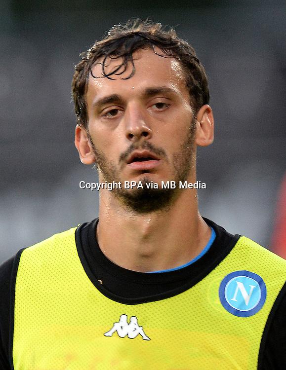 Italian League Serie A -2016-2017 / <br /> ( Ssc Napoli ) - <br /> Manolo Gabbiadini