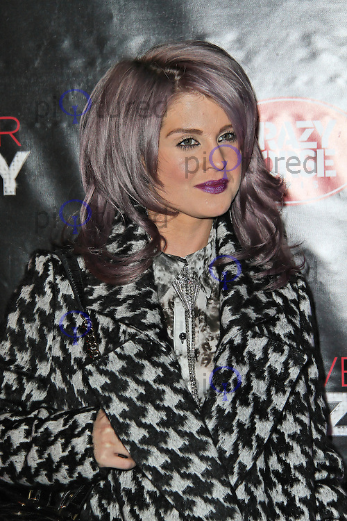 LONDON - SEPTEMBER 19: Kelly Osbourne attended the premiere of 'Crazy Horse Presents Forever Crazy' at The Crazy Horse, London, UK. September 19, 2012. (Photo by Richard Goldschmidt)