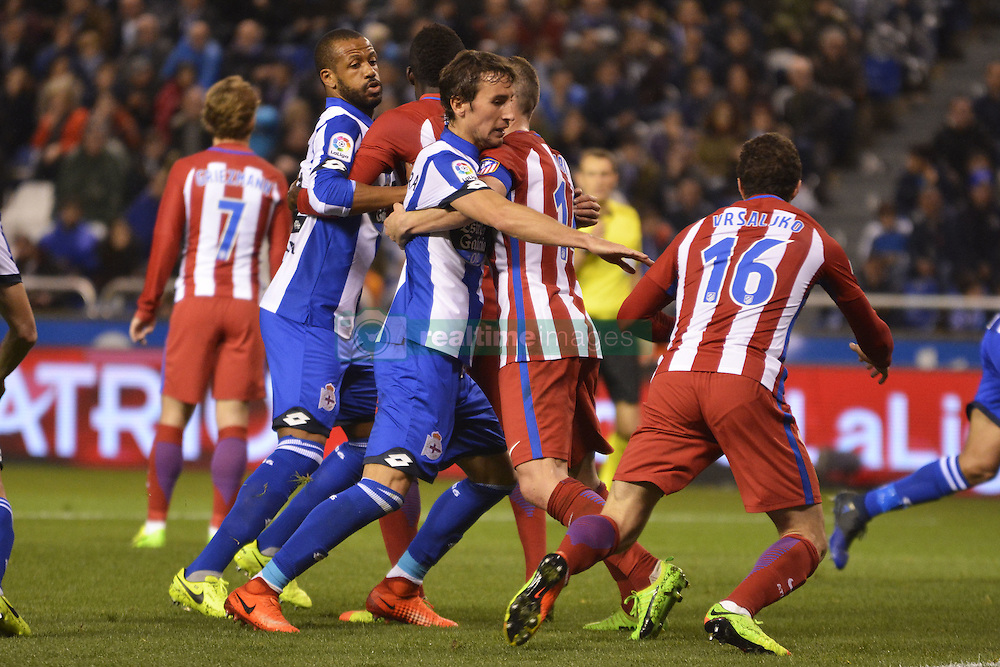 March 2, 2017 - La Coruna, Spain - La Liga Santander Matchday 25. Riazor Stadium, La Coruna, Spain. March 02, 2017. (Credit Image: © Monica Arcay Carro/VW Pics via ZUMA Wire/ZUMAPRESS.com)