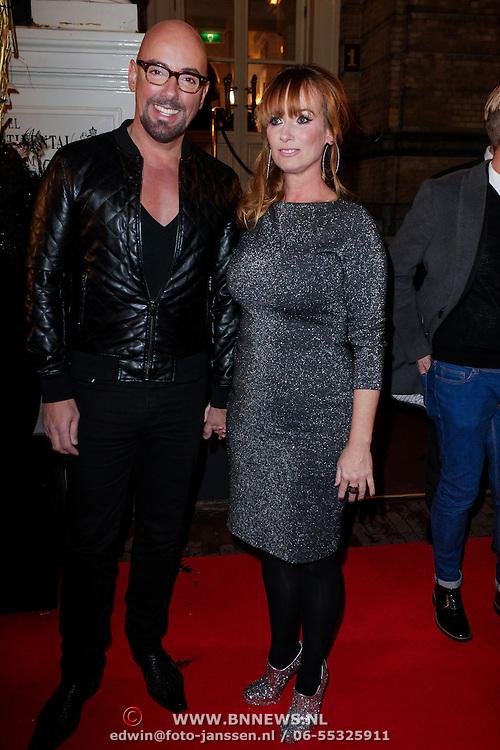NLD/Amsterdam/20121112 - Beau Monde Awards 2012, Maik de Boer en Patty Zomer