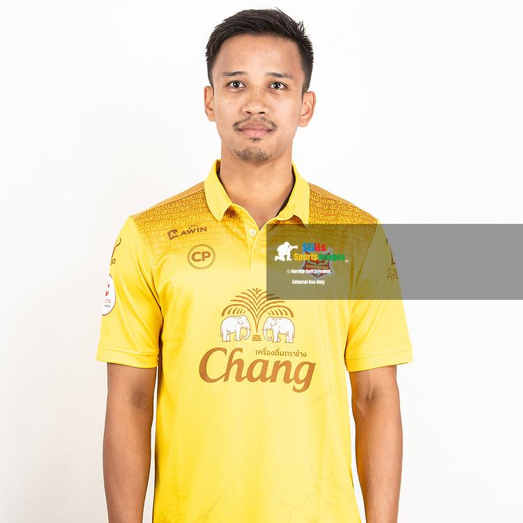 THAILAND - JUNE 29: Piyarat Lajungreed #13 of Sukhothai FC on June 29, 2019.<br /> .<br /> .<br /> .<br /> (Photo by: Naratip Golf Srisupab/SEALs Sports Images/MB Media Solutions)