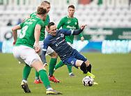 FODBOLD: Matheus Leiria (FC Helsingør) under kampen i NordicBet Ligaen mellem Viborg FF og FC Helsingør den 24. marts 2019 på Energi Viborg Arena. Foto: Claus Birch