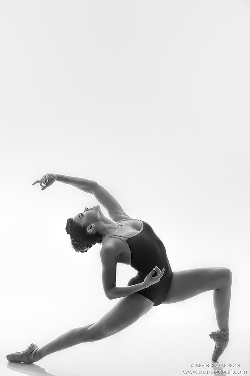 Black and white dance photography-Ole -featuring Dance As Art ballerina Zui Gomez