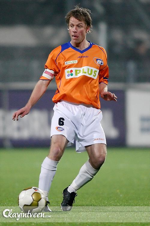 ROOSENDAAL - RBC Roosendaal - FC Emmen, Jupiler League, Seizoen 2010-2011, 04-03-2011, Mariflex Stadion, Jordy Zuidam