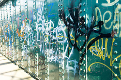 Footbridge with Graffiti