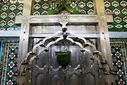 Shrine room of Dargah at Nagore.