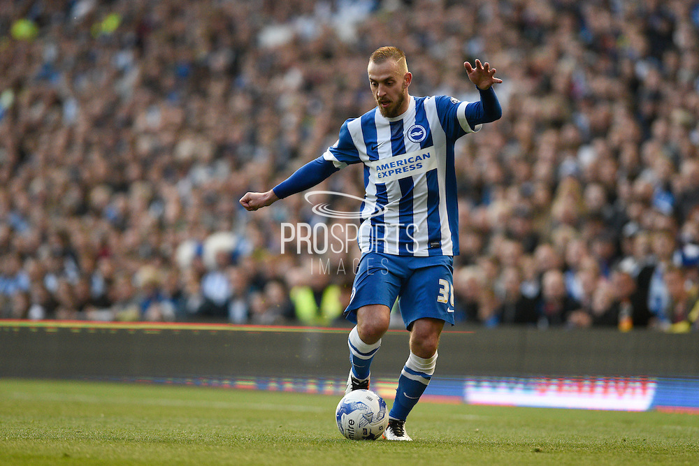 Brighton striker Jiri Skalak (38) during the Sky Bet Championship play-off second leg match between Brighton and Hove Albion and Sheffield Wednesday at the American Express Community Stadium, Brighton and Hove, England on 16 May 2016. Photo by David Charbit.