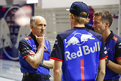 September 14, 2018 - Singapore, Singapore - Motorsports: FIA Formula One World Championship 2018, Grand Prix of Singapore, .TOST Franz (aut), Team Principal Scuderia Toro Rosso, #28 Brendon Hartley (NZL, Red Bull Toro Rosso Honda) (Credit Image: © Hoch Zwei via ZUMA Wire)