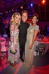 Left to right, Mollie King, Olly Murs and Frankie Bridge at the Glamour Women of The Year Awards 2017 in association with Next held in Berkeley Square Gardens, London England. 6 June 2017.