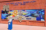Vistor center at Kit Peak National Observatory, Tohono O'odham Indian Reservation, Arizona USA