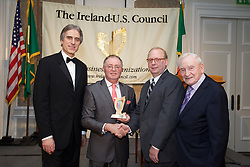 17/12/2015<br /> 17 December 2015<br /> Pictured at The Ireland - U.S. Council Holiday Season Member - Guest Reception at the InterContinental Hotel, Dublin were (L-R):<br /> Stuart Dwyer, Deputy Chief of Mission, U.S. Embassy; <br /> Michael Larkin; <br /> Greg Varisco, AquaComms and <br /> Roddy Feely, Ireland - U.S. Council.