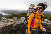 Mount Battie with Julia, Matilda Brigid and Maddox - Camden Hills State Park, Maine.