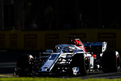 March 23, 2018 - Melbourne, Victoria, Australia - ERICSSON Marcus (swe), Alfa Romeo Sauber F1 Team C37, action during 2018 Formula 1 championship at Melbourne, Australian Grand Prix, from March 22 To 25 - Photo  Motorsports: FIA Formula One World Championship 2018, Melbourne, Victoria : Motorsports: Formula 1 2018 Rolex  Australian Grand Prix, (Credit Image: © Hoch Zwei via ZUMA Wire)