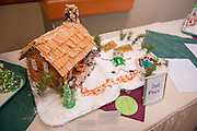 19149West 82's Gingerbread decorating contest on: Judging 12/9/08...2nd Place, University College