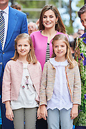 032716 Spanish Royals Attend Easter Mass in Palma de Mallorca
