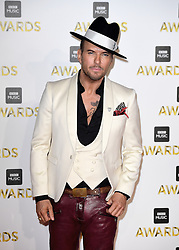 Matt Goss attending the BBC Music Awards at the Royal Victoria Dock, London.