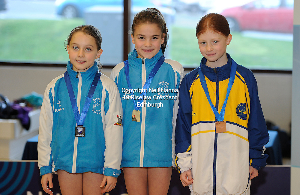 Scottish National Diving Championships & Thistle Trophy 2015<br /> <br /> Royal Commonwealth Pool, Edinburgh<br /> <br /> Event 22  Novice Girls 8/9<br /> <br /> <br />  Neil Hanna Photography<br /> www.neilhannaphotography.co.uk<br /> 07702 246823