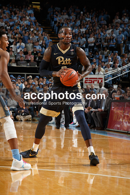 CHAPEL HILL, NC - JANUARY 31: Michael Young #2 of the Pittsburgh Panthers plays against the North Carolina Tar Heels on January 31, 2017 at the Dean Smith Center in Chapel Hill, North Carolina. North Carolina won 80-78. (Photo by Peyton Williams/UNC/Getty Images) *** Local Caption *** Michael Young