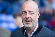 Bolton Wanderers manager Keith Hill before the EFL Sky Bet League 1 match between Bolton Wanderers and Rochdale at the University of  Bolton Stadium, Bolton, England on 19 October 2019.