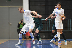 Alen Fetic of Slovenia during futsal friendly match between National teams of Slovenia and Italy, on December 3, 2019 in Maribor, Slovenia. Photo by Milos Vujinovic / Sportida