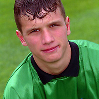 St Johnstone FC 1998/99 squad member Kevin Cuthbert<br />14.7.98.<br /><br />Picture Copyright:  John Lindsay / Perthshire Picture Agency.<br />30 James Street, Perth. PH2 8LZ.<br />Tel. office 01738 623350. mobile 0370 822321.<br />message pager 04325 265547.