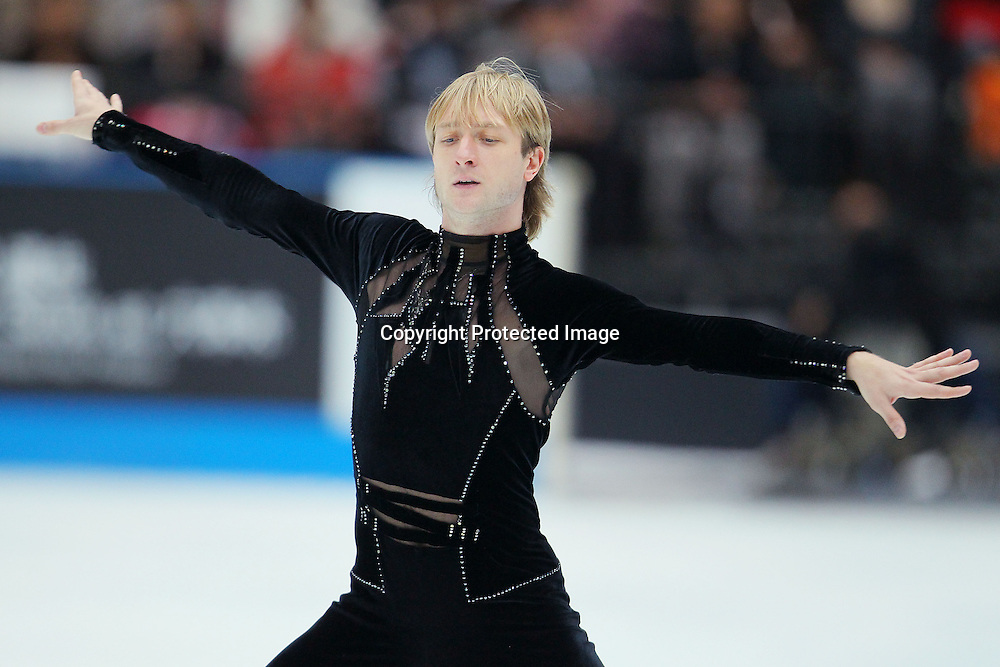 Evgeni Plushenko (RUS), OCTOBER 2, 2010 - Figure Skating : Evgeni Plushenko of Russia performs during Japan Open 2010 at Saitama Super Arena, Saitama, Japan. (Photo by Yusuke Nakanishi/AFLO SPORT) [1090]