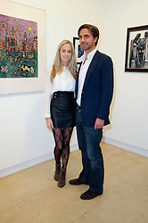 FLORENCE BRUDENELL-BRUCE and HENRY ST.GEORGE at a Pop Up exhibition of Fine Art held at the Broadbent Gallery, 25 Chepstow Corner, Chepstow Place, London W2 on 7th December 2010.