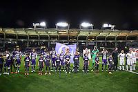 Equipe Toulouse  - 20.12.2014 - Toulouse / Guingamp - 19eme journee de Ligue 1 <br /> Photo : Manuel Blondeau / Icon Sport