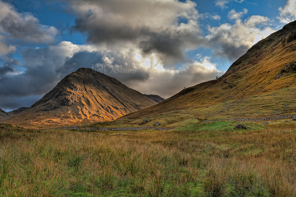 When you enter Glen Coe from the west this is what you see.