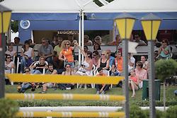 Mestrom Kim (NED) - Casanova Z<br /> FEI European Jumping Championship for children <br /> Arezzo 2014<br /> © Hippo Foto - Stefano Secchi