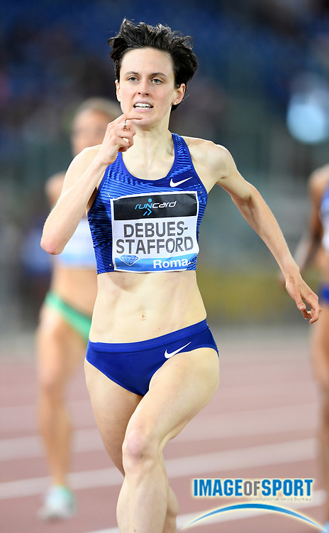 Gabriela DeBues-Stafford (CAN) places fourth in the women's 1,500m in 4:01.28during the 39th Golden Gala Pietro Menena in an IAAF Diamond League meet at Stadio Olimpico in Rome on Thursday, June 6, 2019. (Jiro Mochizuki/Image of Sport)