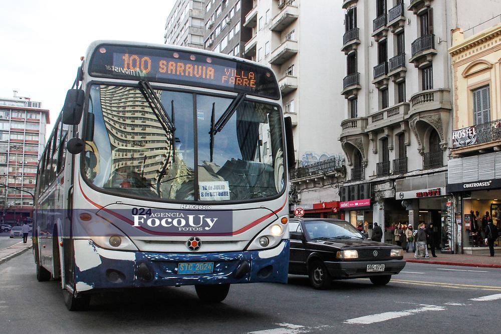 Montevideo, Uruguay. 19 de julio de 2017.<br /> Transporte. Omnibus. Horarios de omnibus<br /> <br /> Foto: Gast&oacute;n Britos / FocoUy