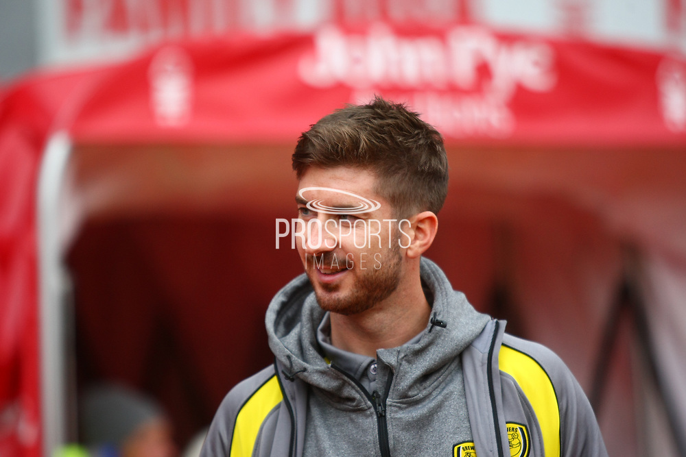 Burton Albion midfielder Luke Murphy (7) during the EFL Sky Bet Championship match between Nottingham Forest and Burton Albion at the City Ground, Nottingham, England on 21 October 2017. Photo by John Potts.