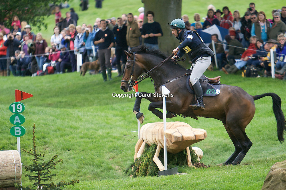 Equi-Trek Bramham International Horse Trials 2012  CCI3*<br /> Mark Kyle and Durlais Aris (IRE)
