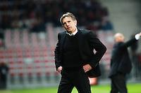 Claude PUEL - 04.04.2015 - Nice / Evian Thonon - 31eme journee de Ligue 1<br />Photo : Serge Haouzi / Icon Sport