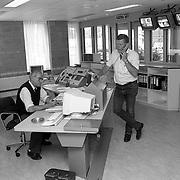 NLD/Baarn/19920818 - Verhuizing politie Baarn naar nieuw buro